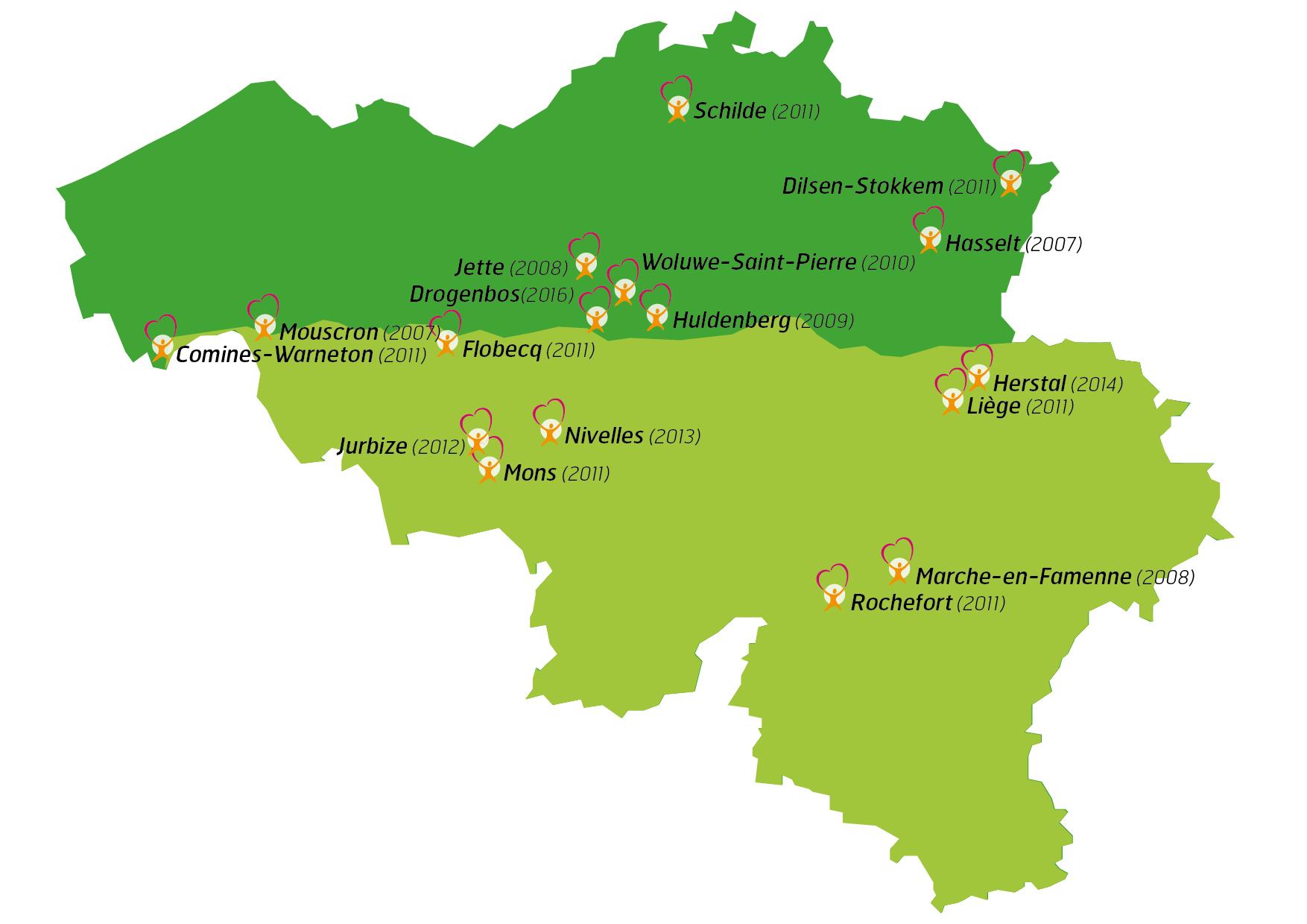 CARTE Viasano Belgique